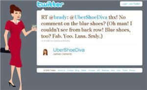 Brady and UberShoeDiva (AKA Jaimee Clements)