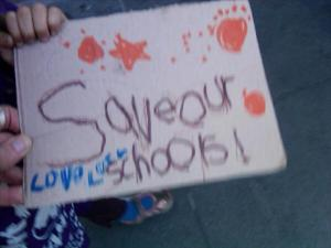 Save our Schools - Love, Lucy