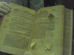 Early 3D prototyping: a book from the 1570's
