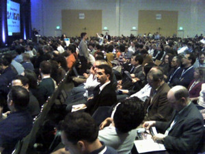 The men -- and some women -- of Web 2.0. Keynote audience.