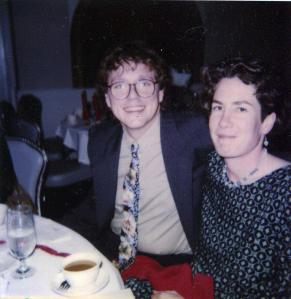Todd and Moya at the Hemophilia Ball