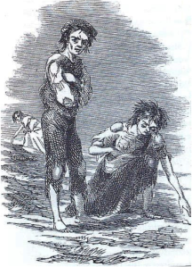 Great Famine - an Gorta Mór - http://en.wikipedia.org/wiki/Great_Famine_%28Ireland%29
